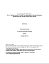 online topic research paper cover